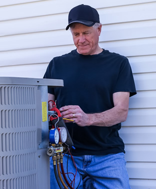 heating hvac 18073 contractors